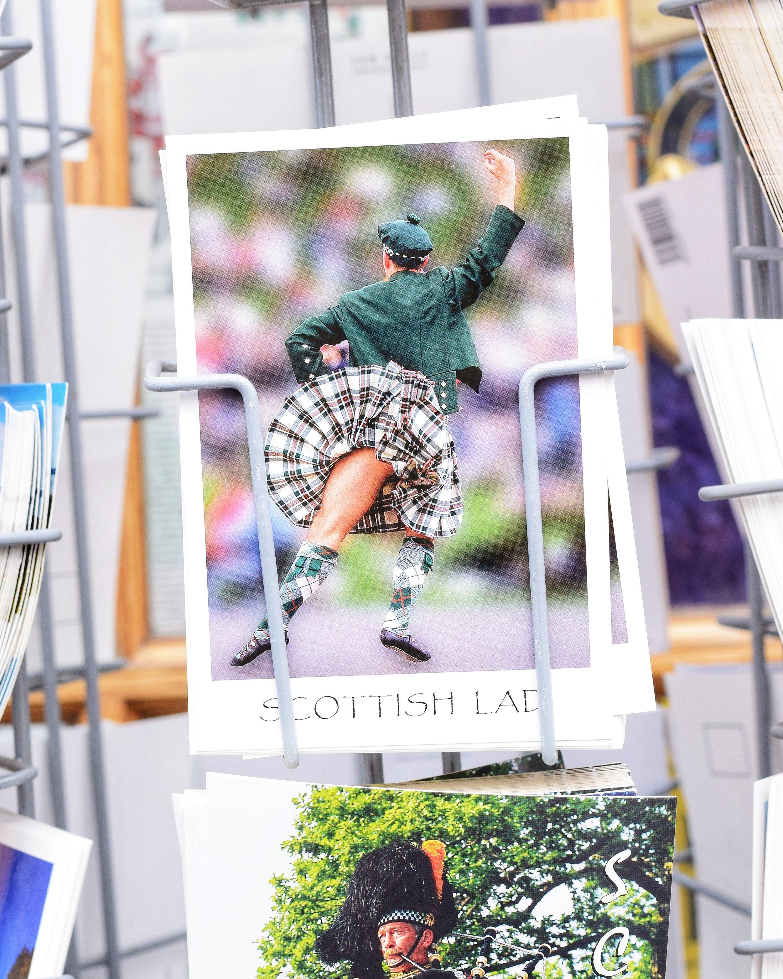 The Titled Kilt, Inverness, Scotland