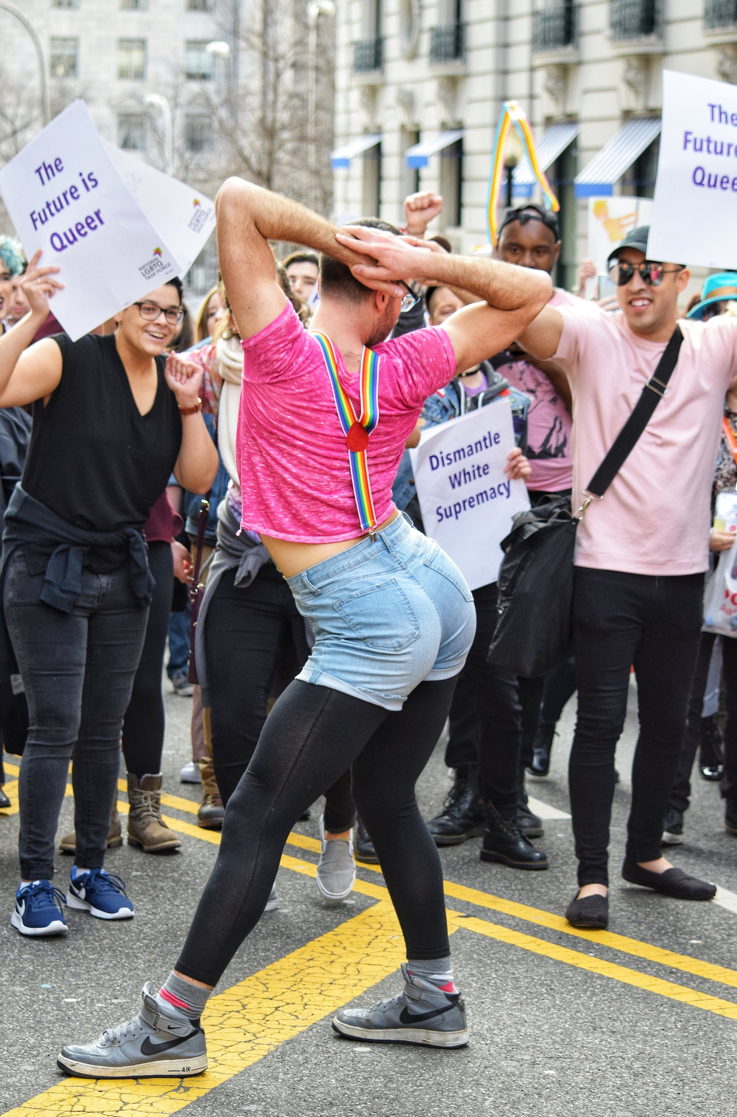 WERK For Consent Rally (2018, Washington DC)