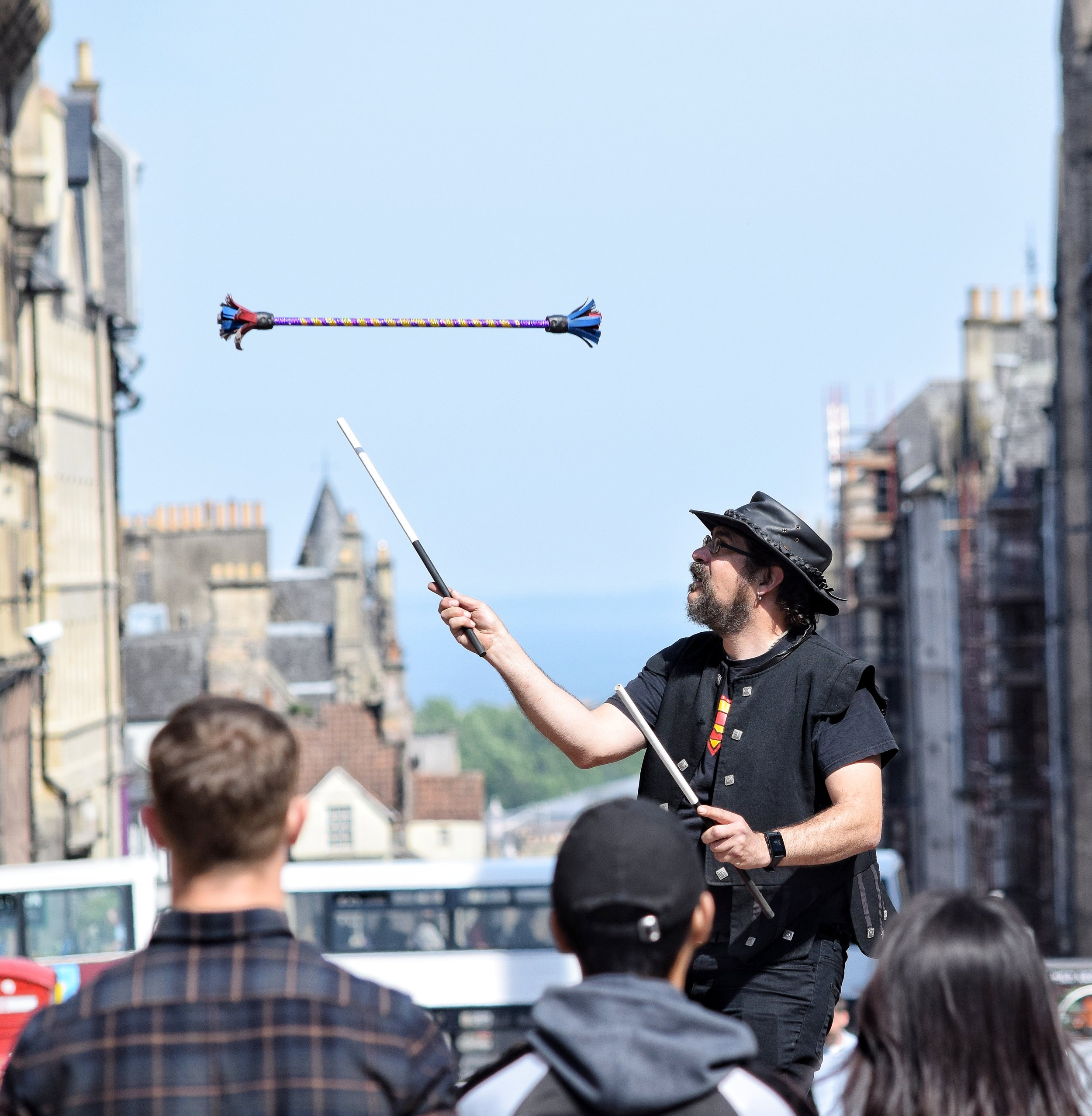 Keep Your Eyes On Me (The Royal Mile, Edinburgh, Scotland)