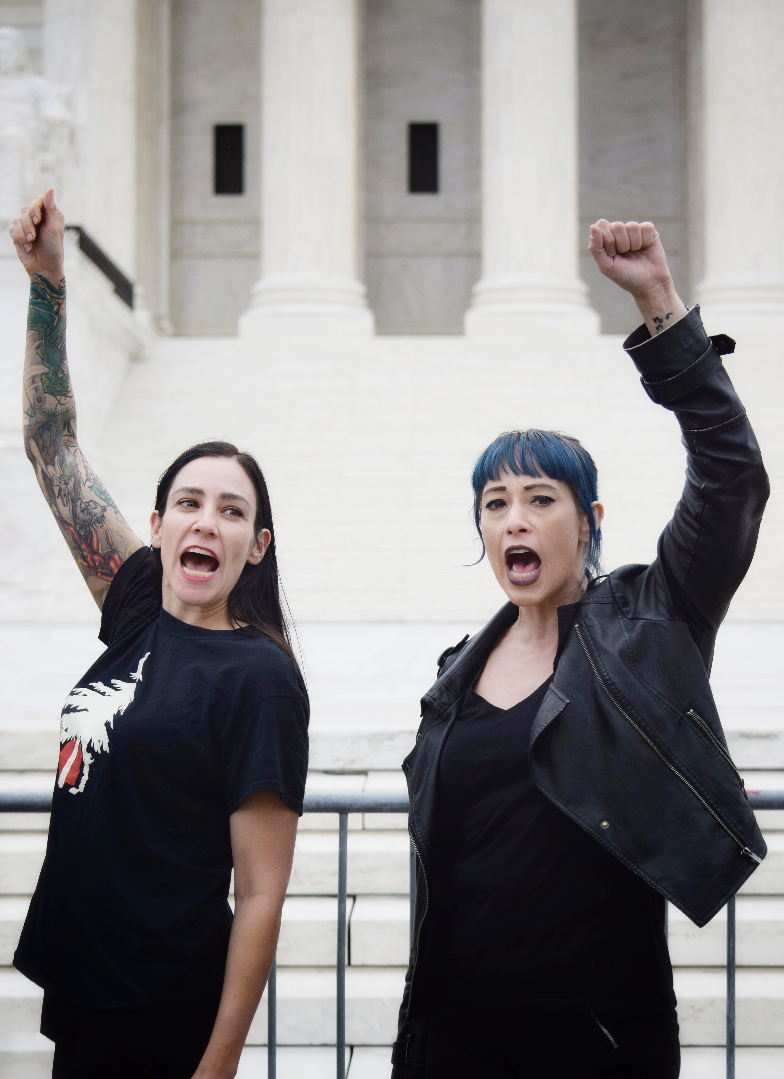 Women's March Reclaim The Court Action (October 2019)
