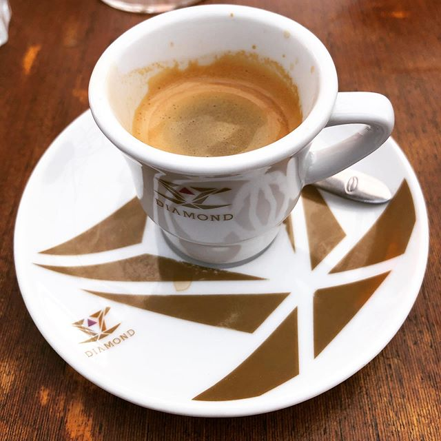 Lovely #decafespresso this morning in #taviraportugal . . . #coffee #coffeetravel #coffeegram #instacoffee #coffeegeek #coffeelove #coffeelover #coffeelovers #coffeeporn #espresso #decaf #decafcoffee #decafanation #coffeecup #coffeetime #coffeeholic #coffeebreak #morningcoffee
