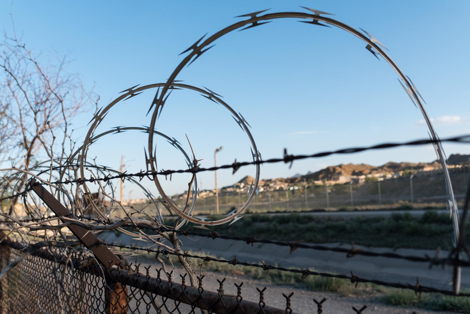 14. Hinterland - Border fence along the Rio Grande in El Paso, TX.jpg