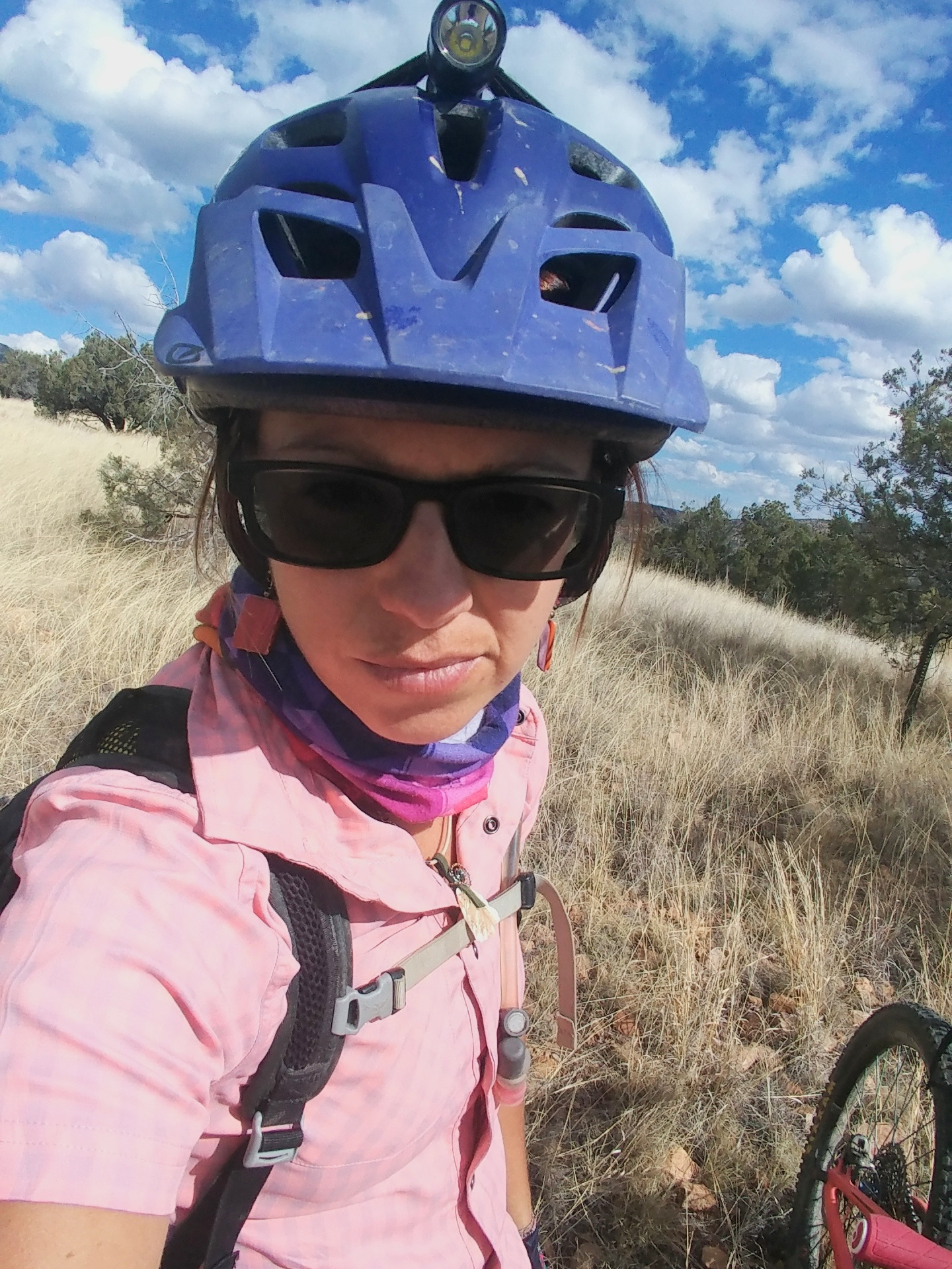 On the Heartbreak Tour of 2019: Canelo Hills Shakedown. Crying my way through the first hundred miles of the Arizona trail on a preride, the day after getting my heart smashed. NOT a fun ride.