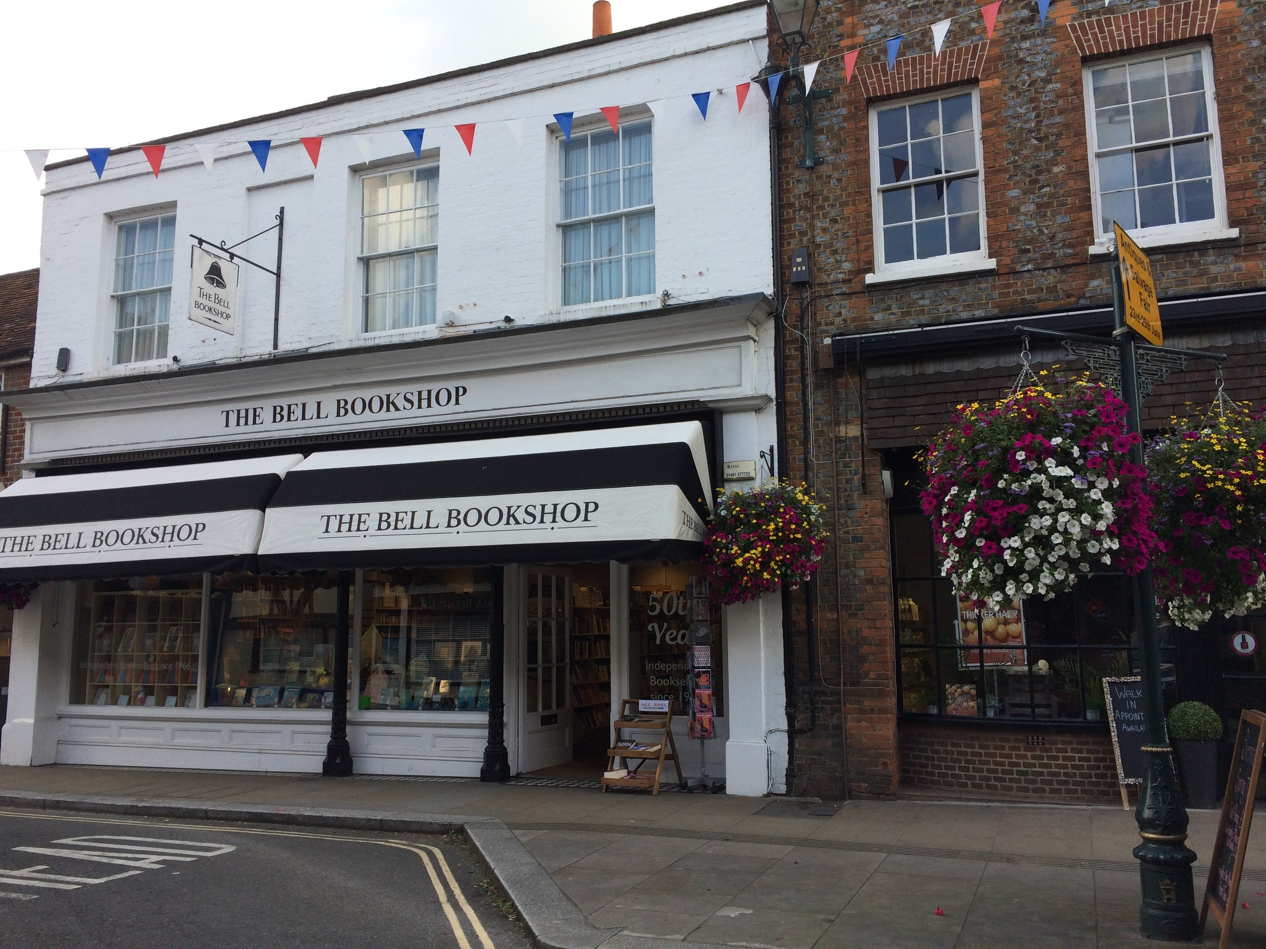 The Bell Bookshop-50 year old Independent bookstore of Henley-on-Thames