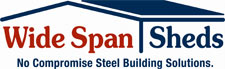 Wide Span Sheds  is a proudly Australian national supplier of steel farm-sheds, garages, workshops, rural sheds, hay sheds, machinery and storage sheds, barns, horse stables, arenas, warehouses, kit homes, commercial complexes, industrial buildings and more.