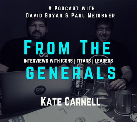 From The Generals Kate Carnell
