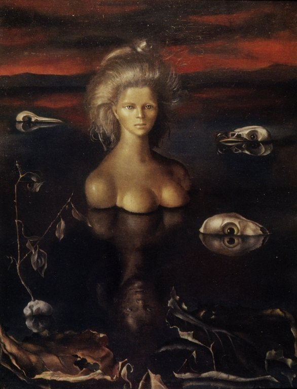 The Ends of the Earth by Leonor Fini (1949)