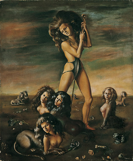 The Shepherdess of the Sphinxes by Leonor Fini (1941)
