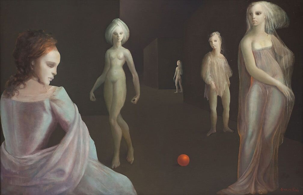 Le Carrefour d'Hecate by Leonor Fini (1977–1978)