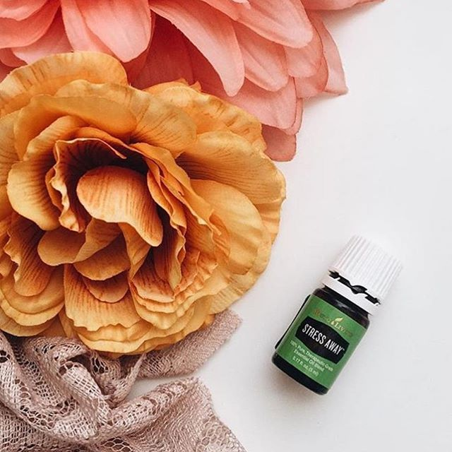 Stress Away   Stress Away™ is the first product to contain the unique combination of Lime and Vanilla pure, therapeutic-grade essential oils. With an aroma that is the perfect blend of tropical and citrus, Stress Away is uniquely relaxing and comforting.