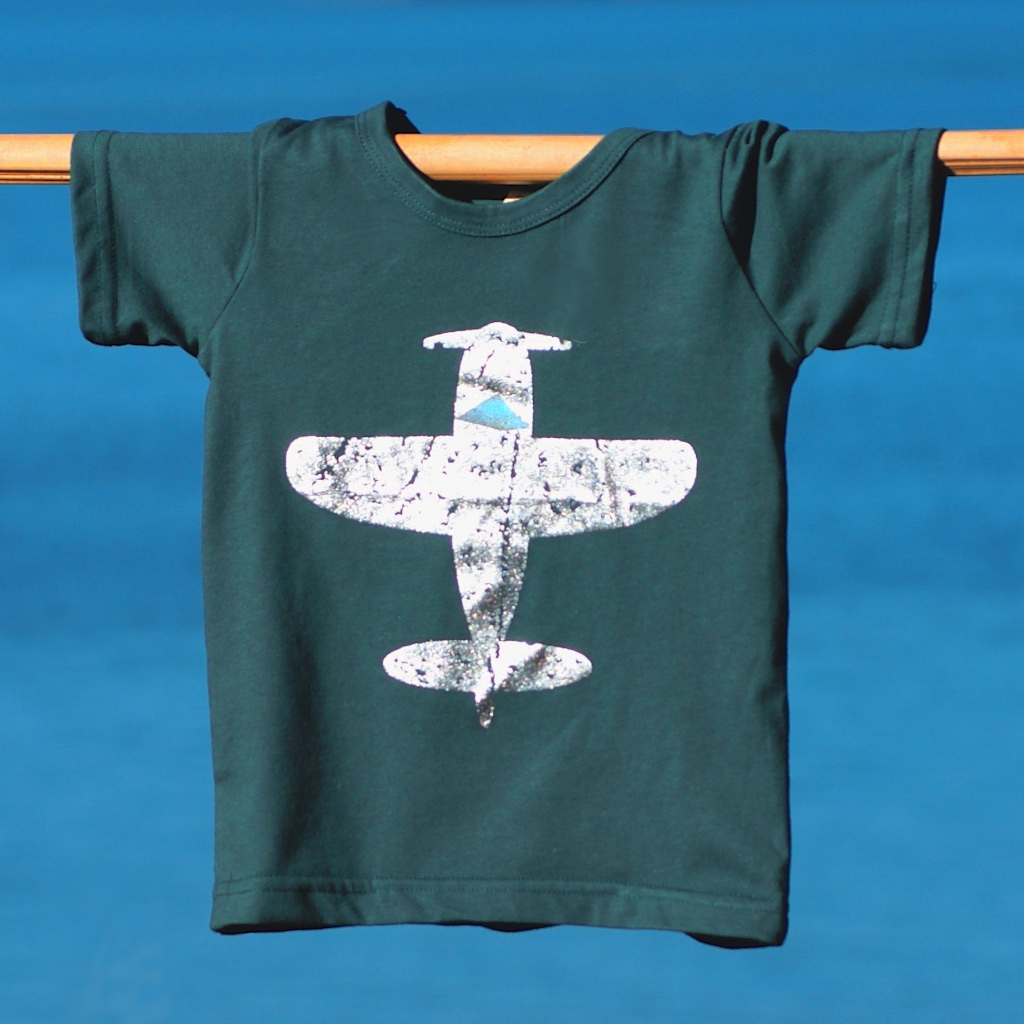 THE PLANE, THE PLANE - Cotton t-shirt in sizes 2 - 5 years