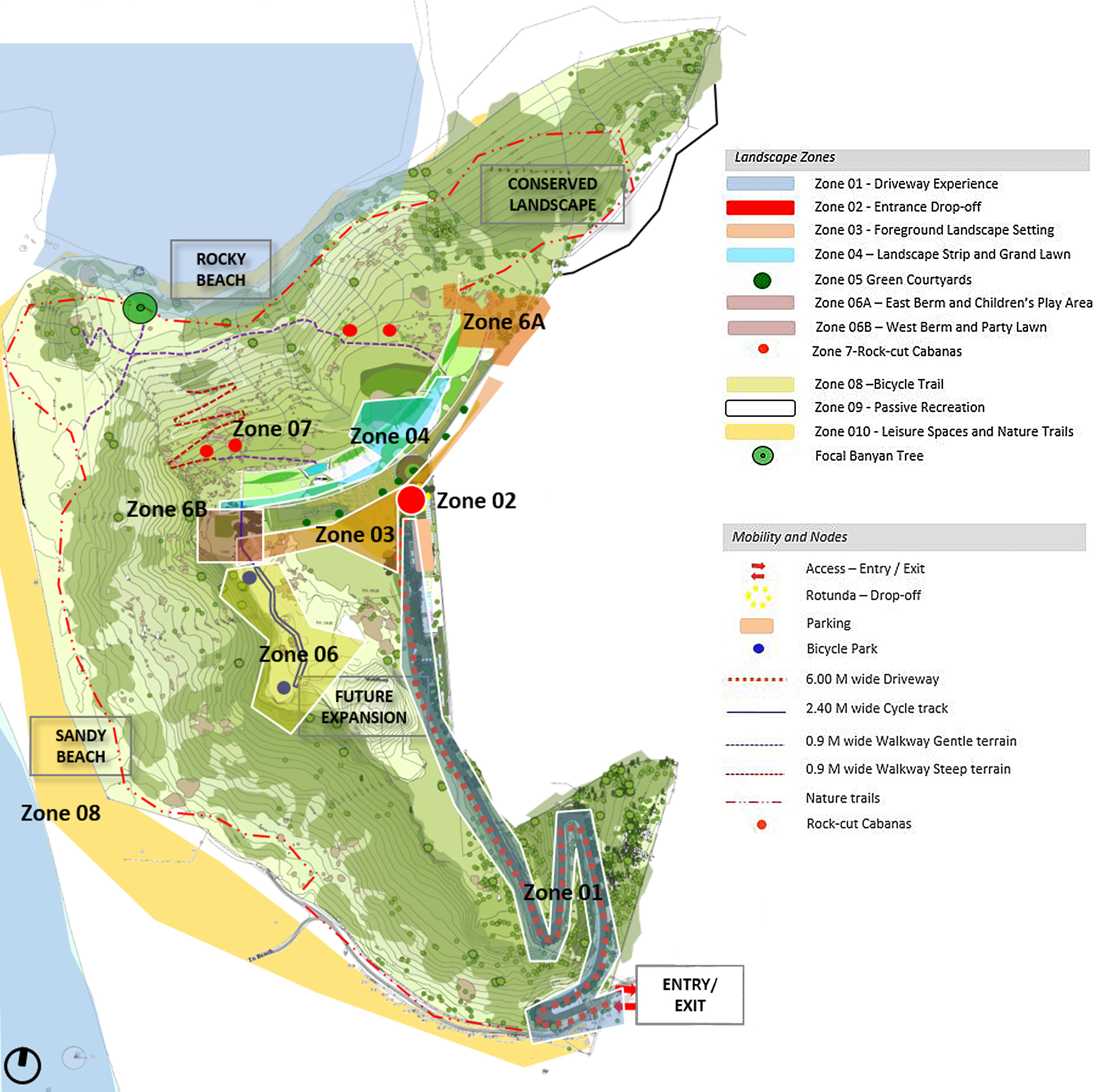 Ficus-landscape-bangalore-nature trail-maharashtra-resort-ecological-plan-render