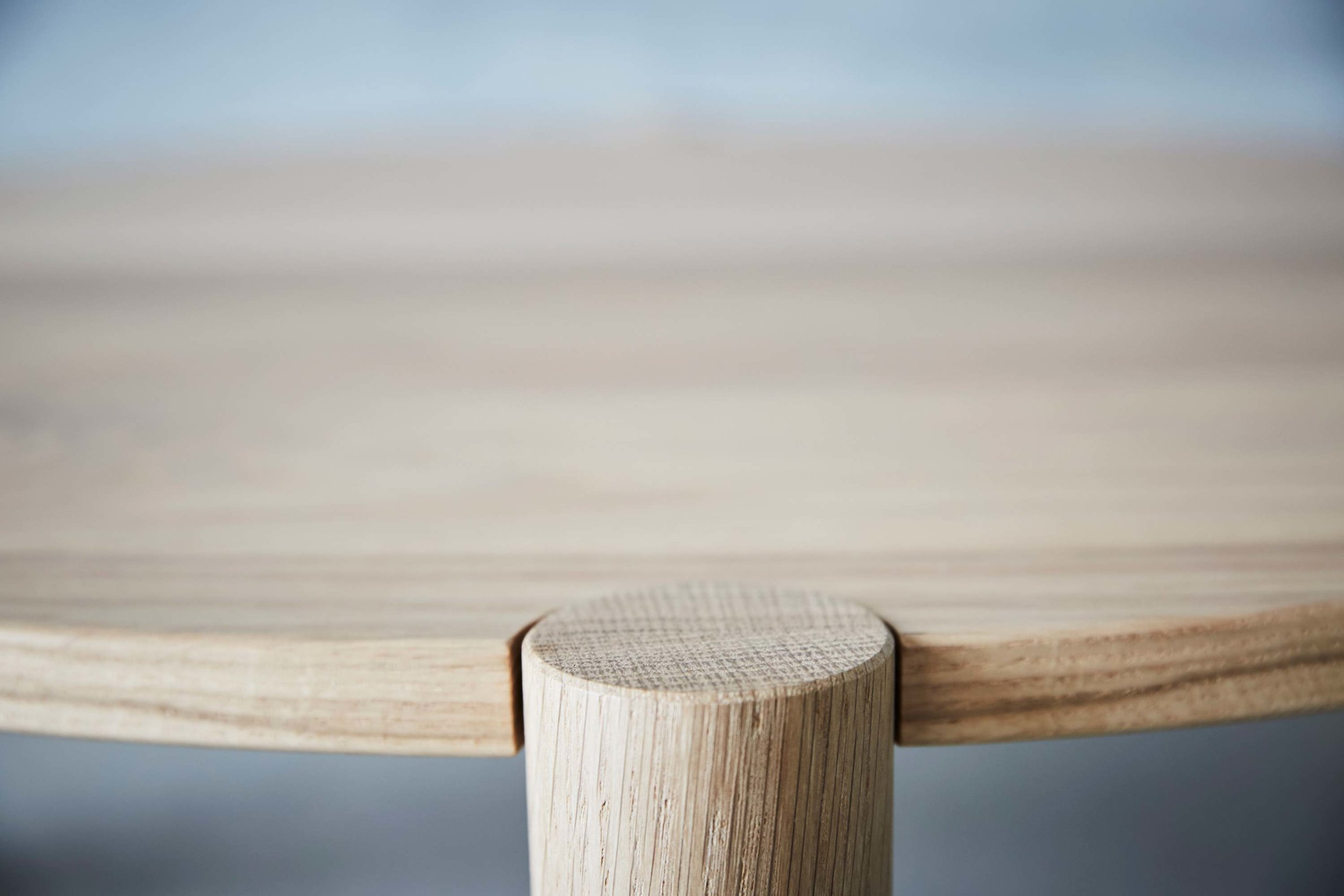 Title Coffee Table by Mast Furniture. Modern, handmade furniture.