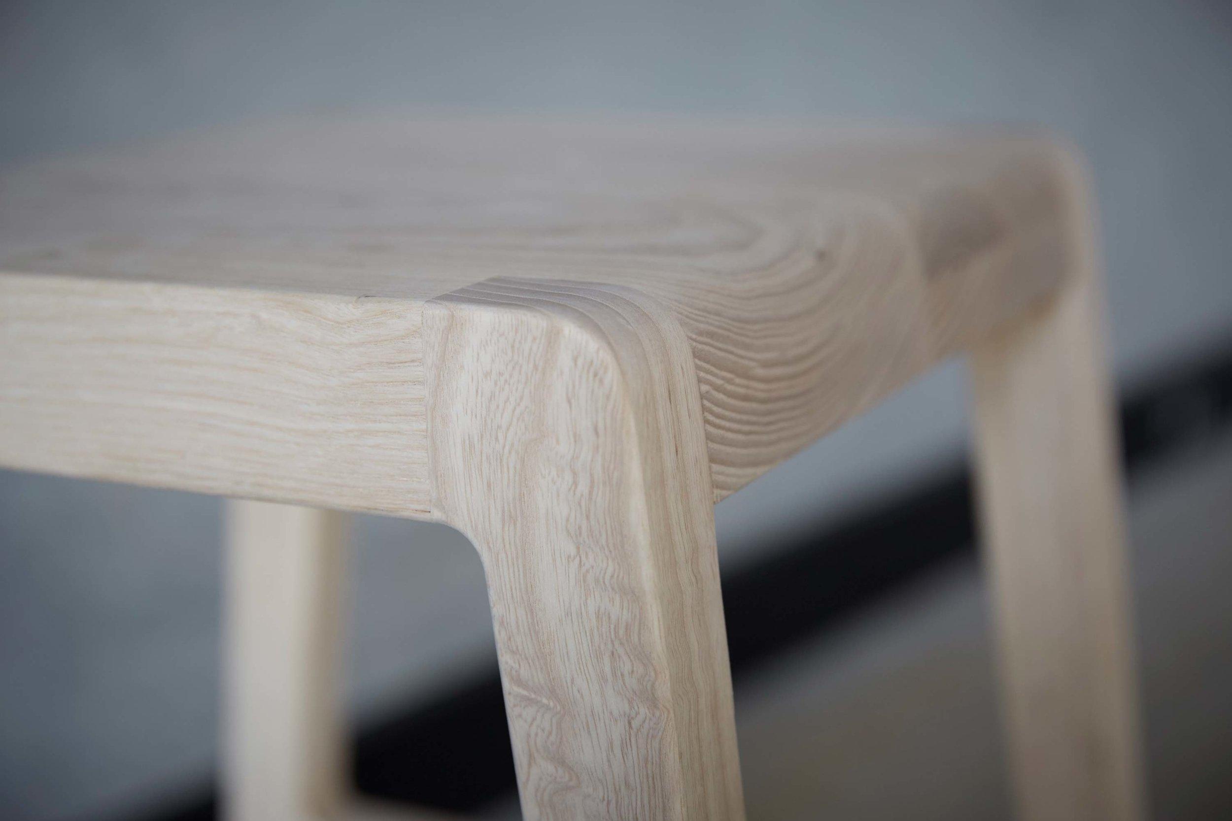 Willox Barstools by Mast Furniture. Modern, handmade furniture.