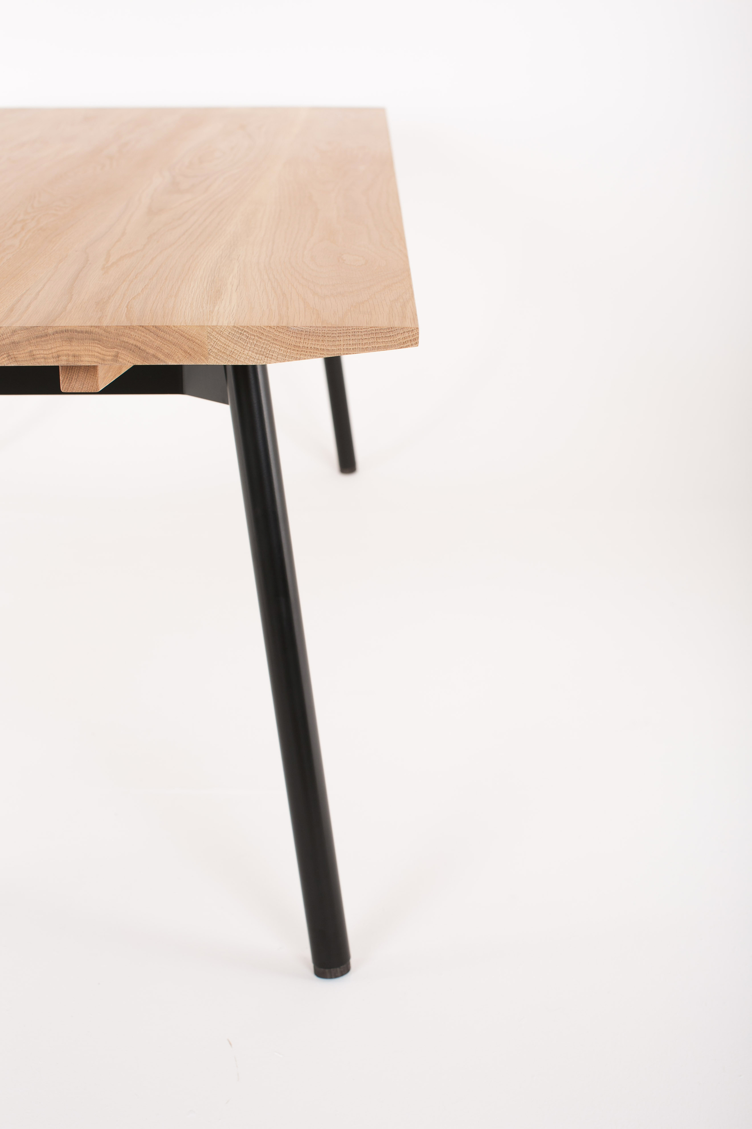 Wells Dining Table by Mast Furniture. Modern, handmade furniture.