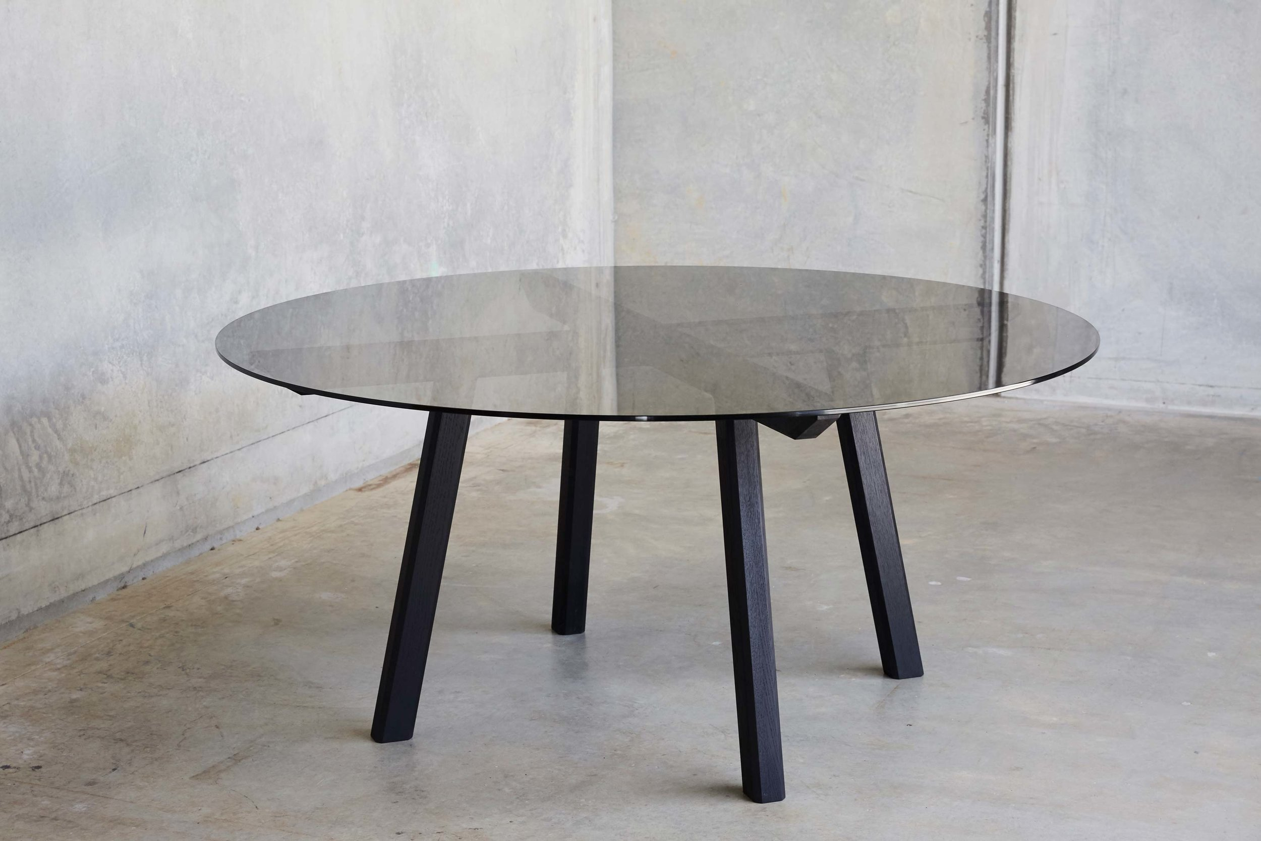 Apartment Table by Mast Furniture. Modern, handmade furniture.