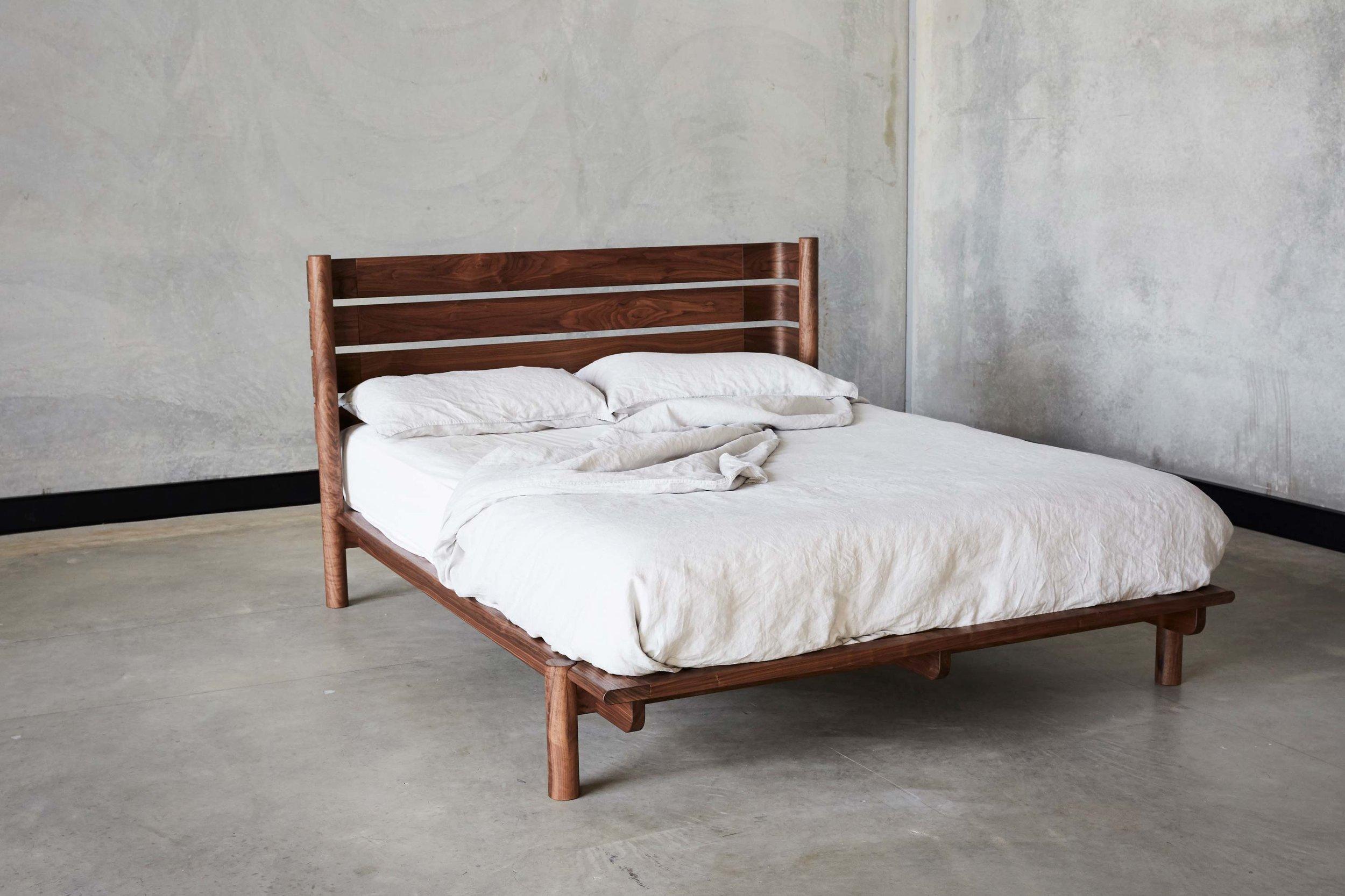 Title Bed 03 by Mast Furniture. Modern, handmade furniture.