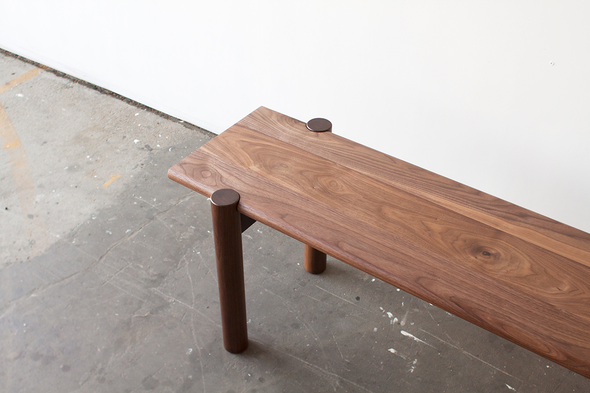 Title Bench by Mast Furniture. Modern, handmade furniture.