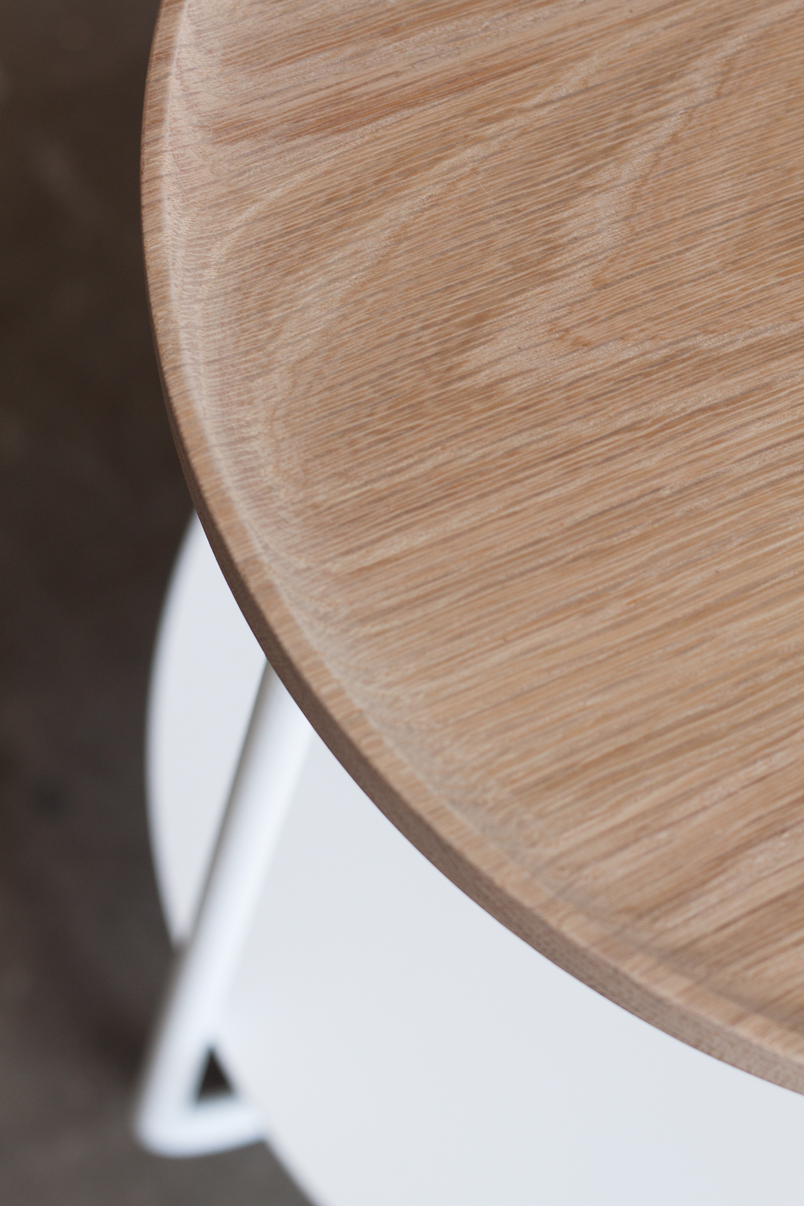 Lo side table by Mast Furniture. Modern, handmade furniture.