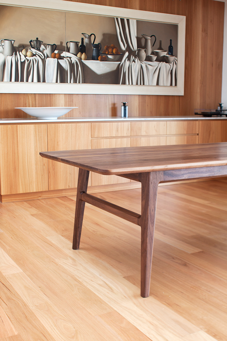 Custom Table by Mast Furniture.