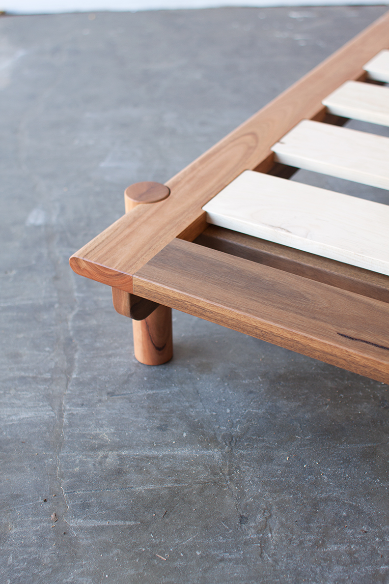 Title Bed 01 by Mast Furniture. Modern, handmade furniture.