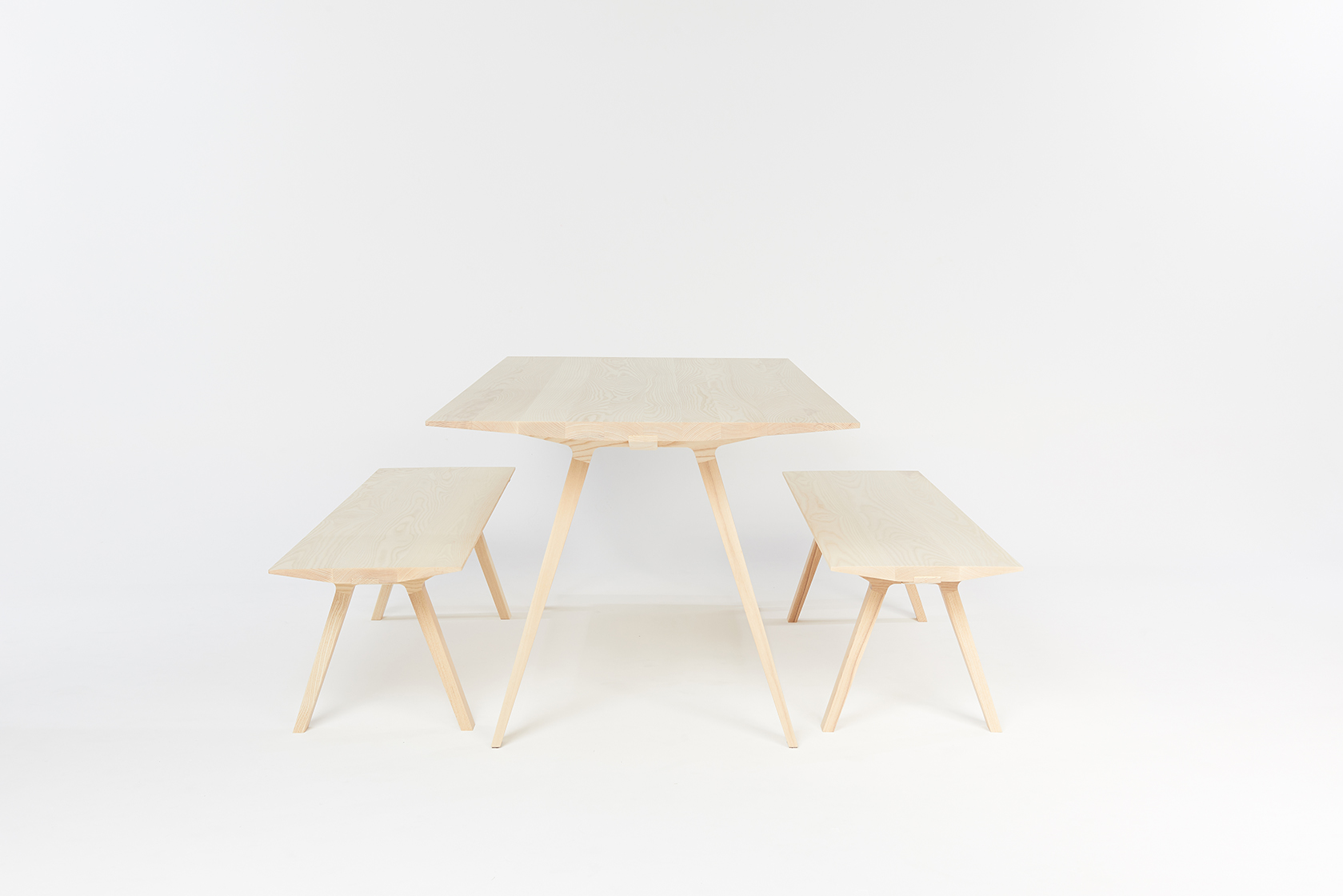 Louis Table by Mast Furniture and designed by Tom Fereday. Modern, handmade furniture.