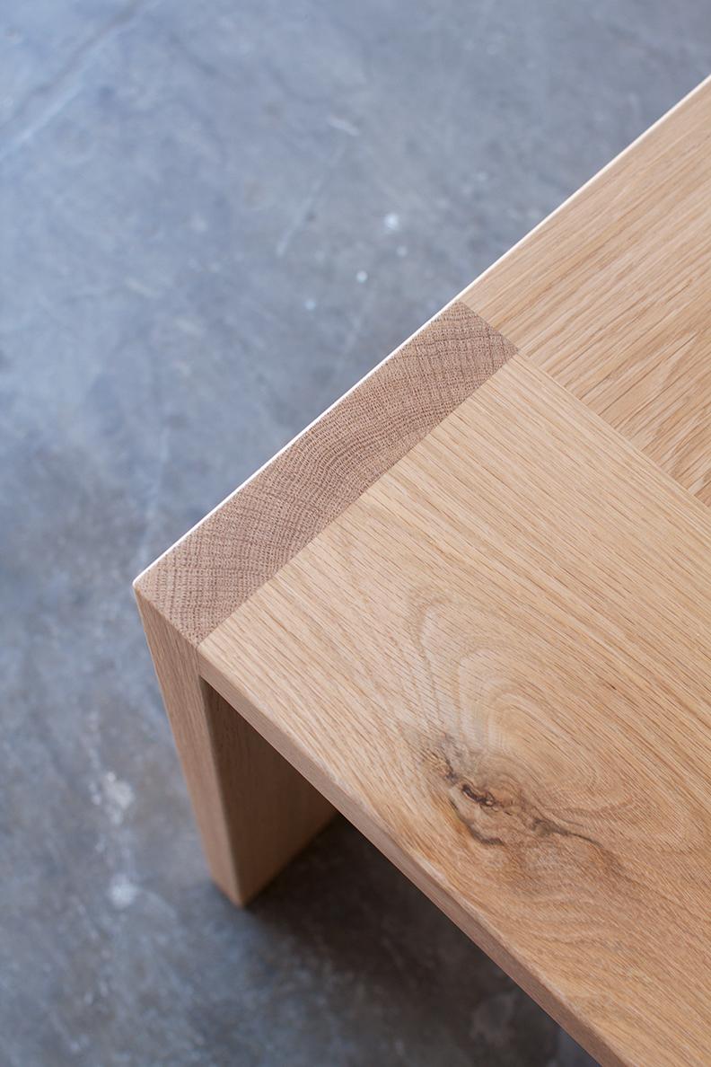 Teeland Table by Mast Furniture. Modern, handmade furniture.