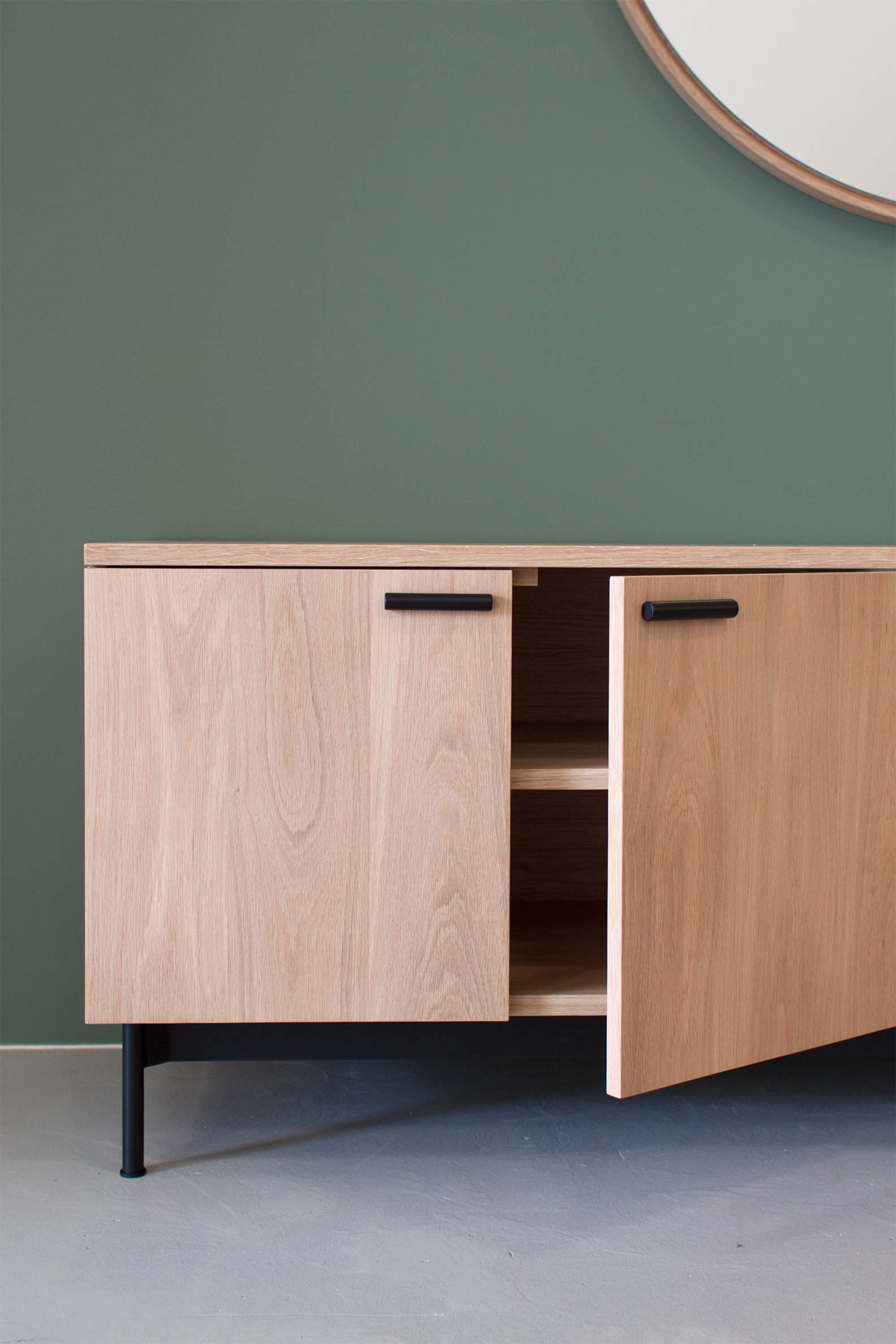 Park Cabinet by Mast Furniture. Modern, handmade furniture.