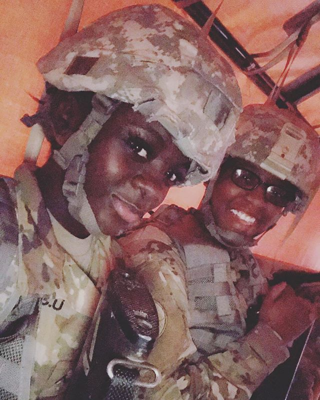 Deep honor & reverence to the brave individuals in the armed forces. Salute to our very own team member Lamonica! ✊😃🤗 #nationalarmedforcesday