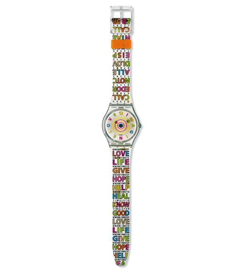 "The 1999 ""Imagine Love"" Swatch Watch sold 153,000 units world wide, of which all royalties were given to paediatric AIDS charities"