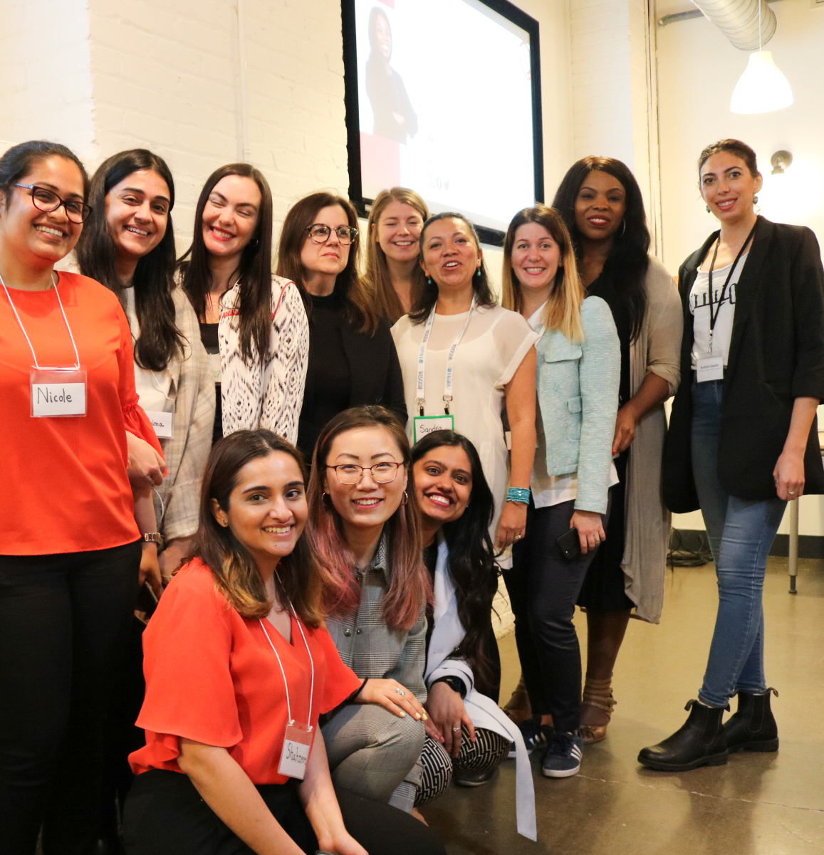 The YWiB Toronto Team and Workshop Facilitators