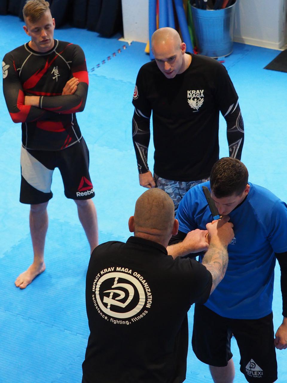 Krav Maga trainer opleiding REFLEX Utrecht