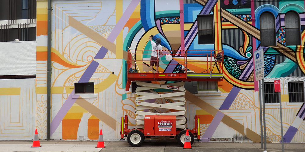 Painting in Ashfield NSW, Australia