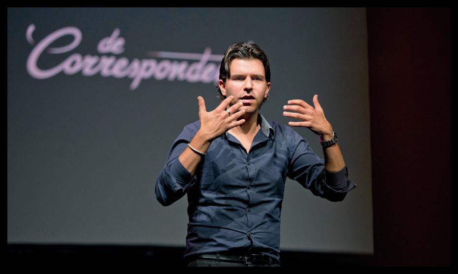 Rob Wijnberg, editor-in-chief of De Correspondent. Photo courtesy of Bas Losekoot