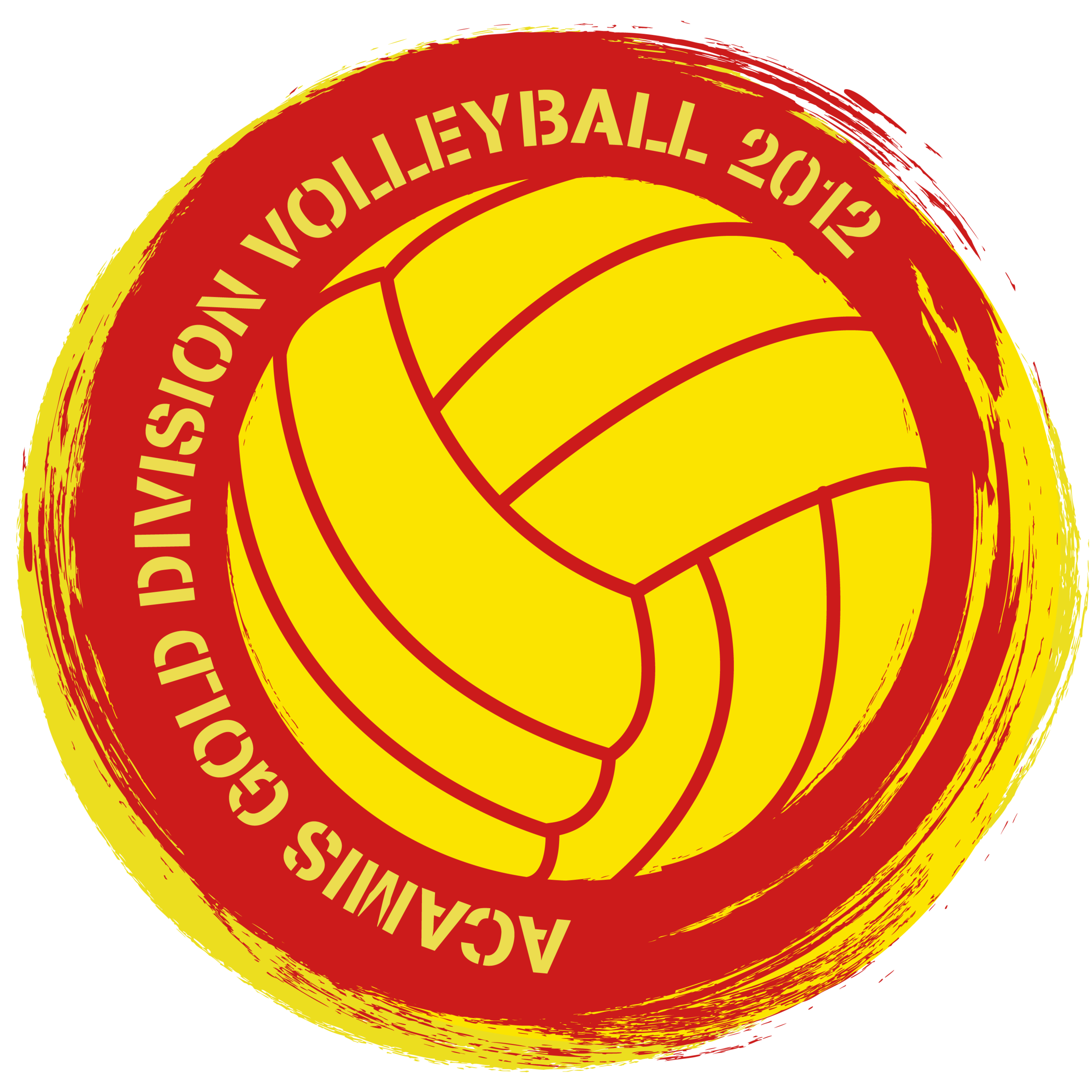 Logo Design- ACAMIS Gold Division Volleyball. 2012.