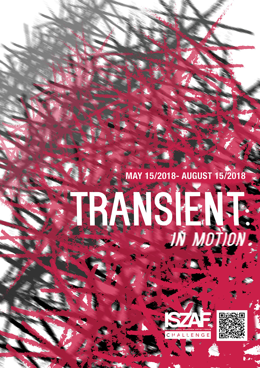 Transient: In Motion - ISZAF Challenge Poster. 2018.