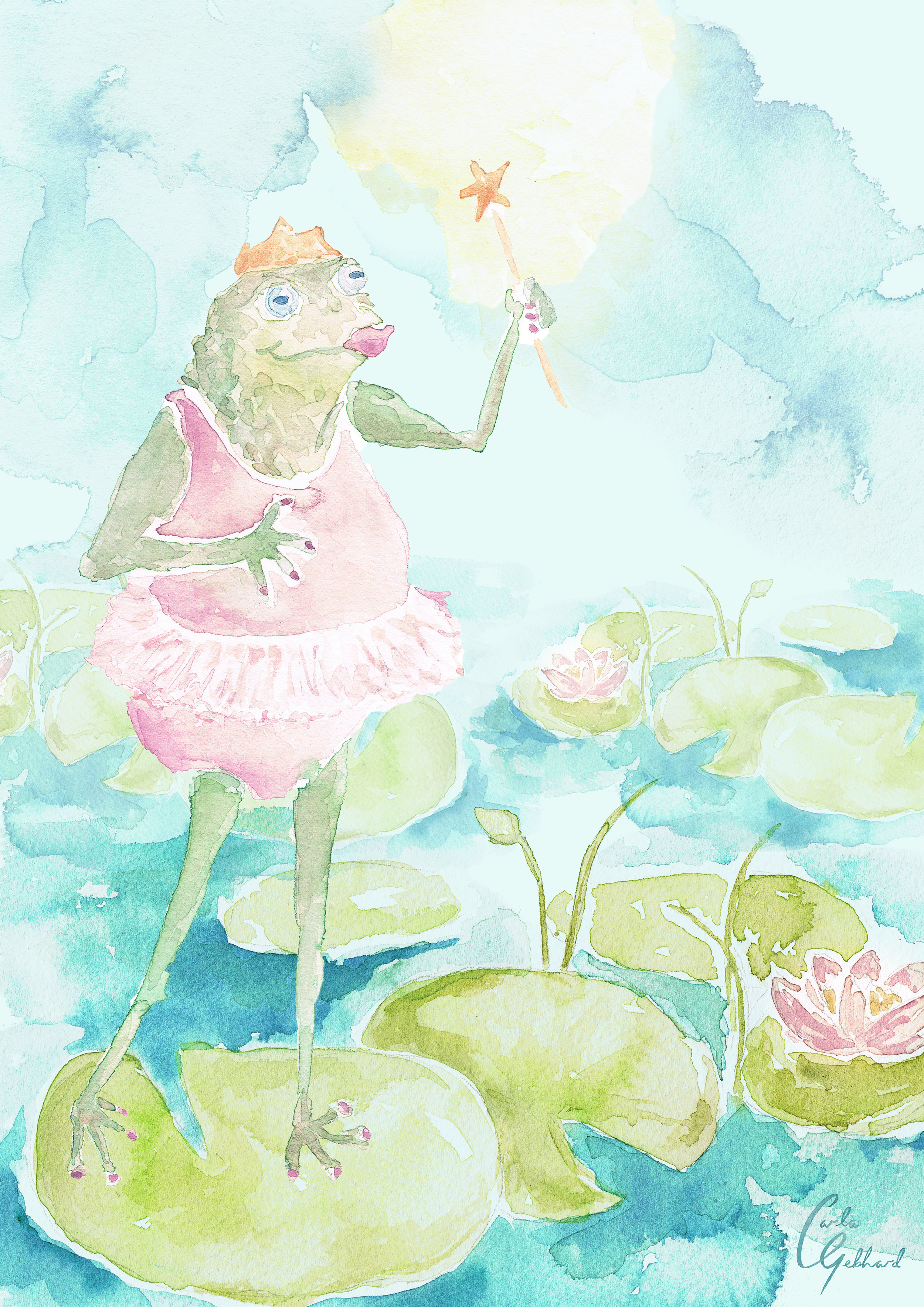 A magical Toad
