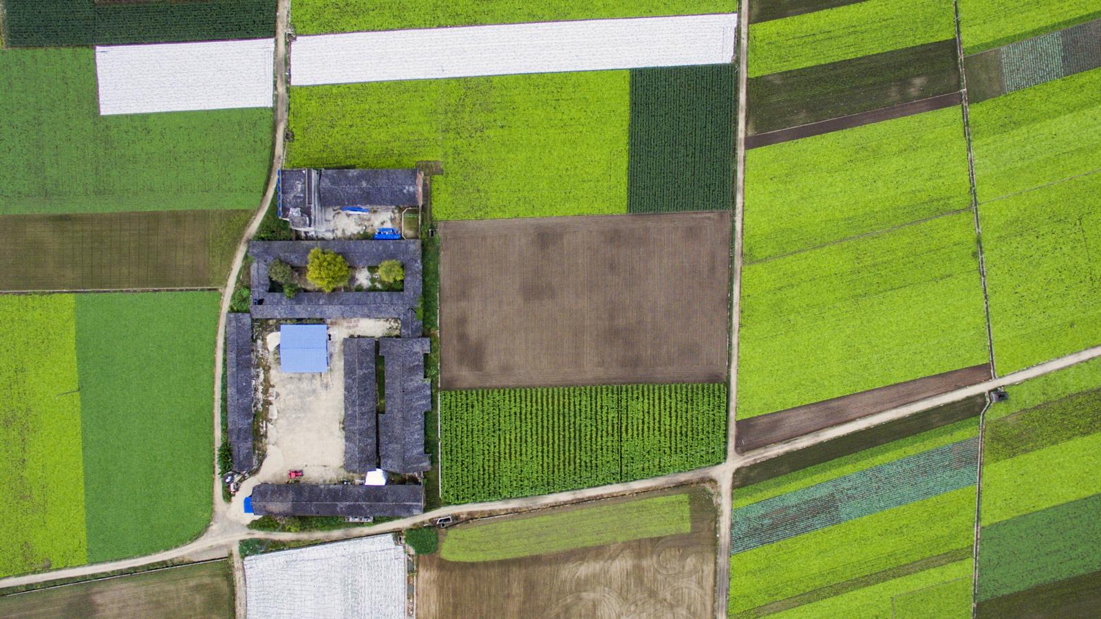 Image: Rural farmland in desperate need of reconsideration.