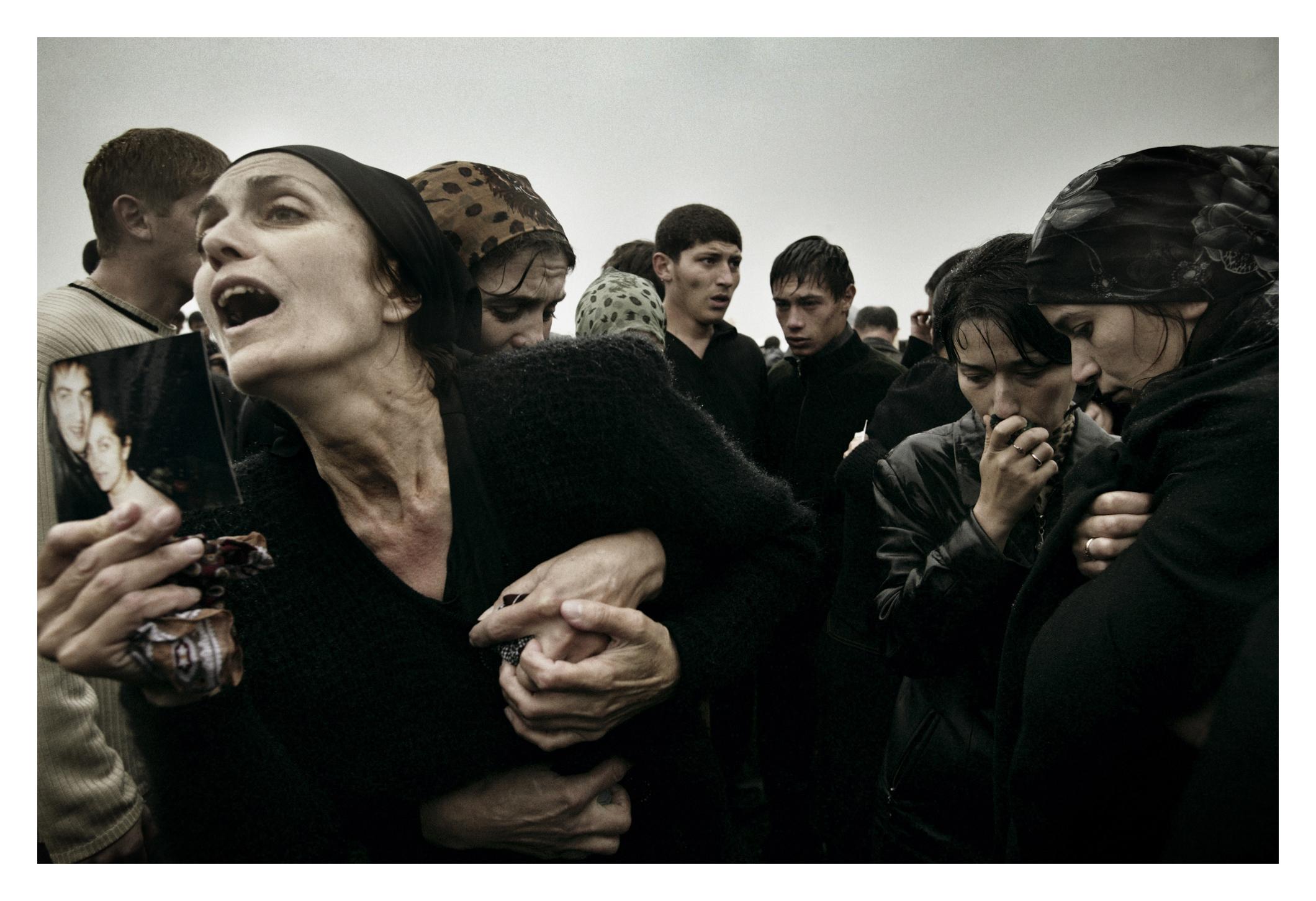 Beslan, North Ossetia Sept. 5, 2004.