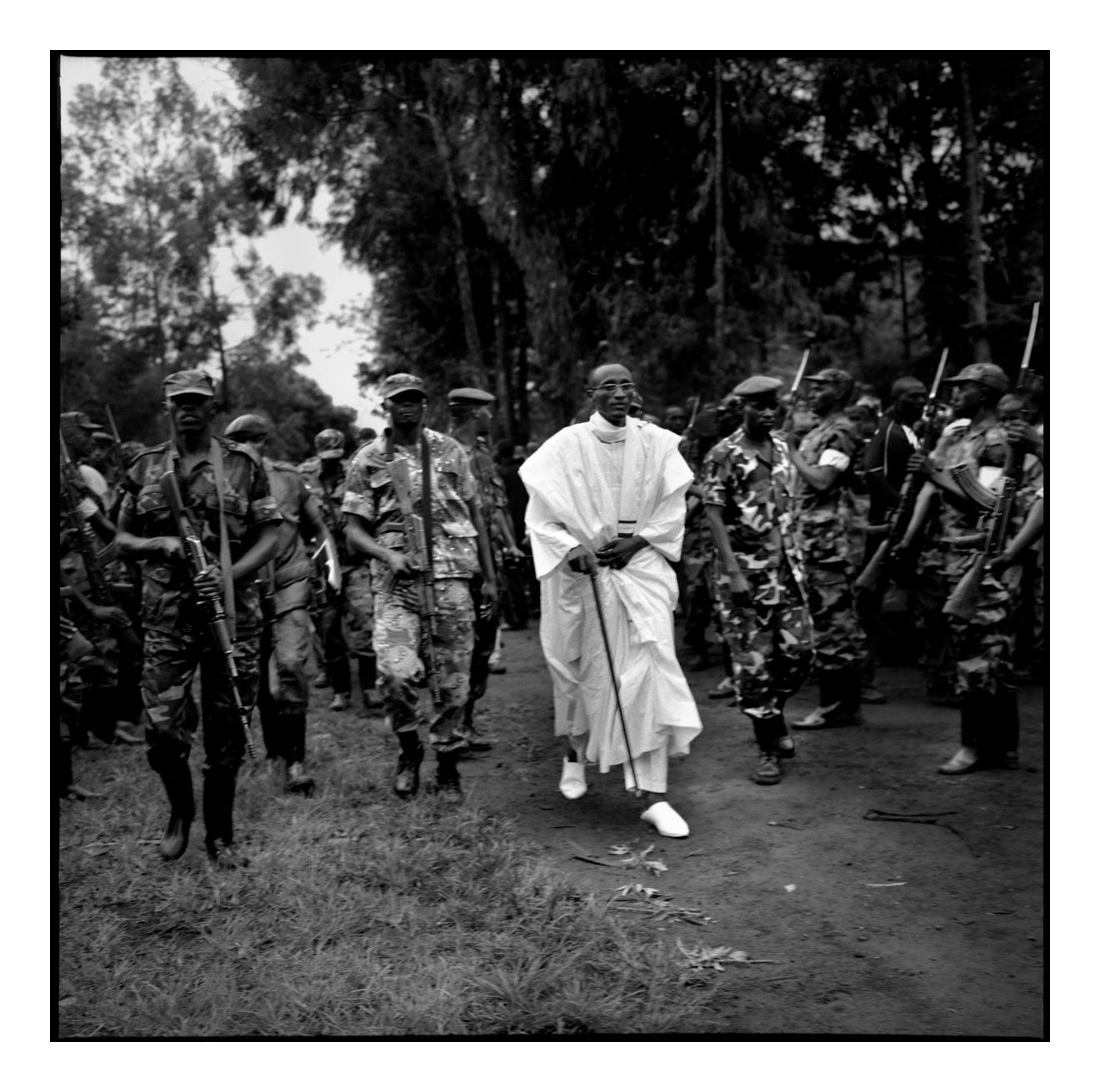 General Laurent Nkunda Congo's main rebel leader