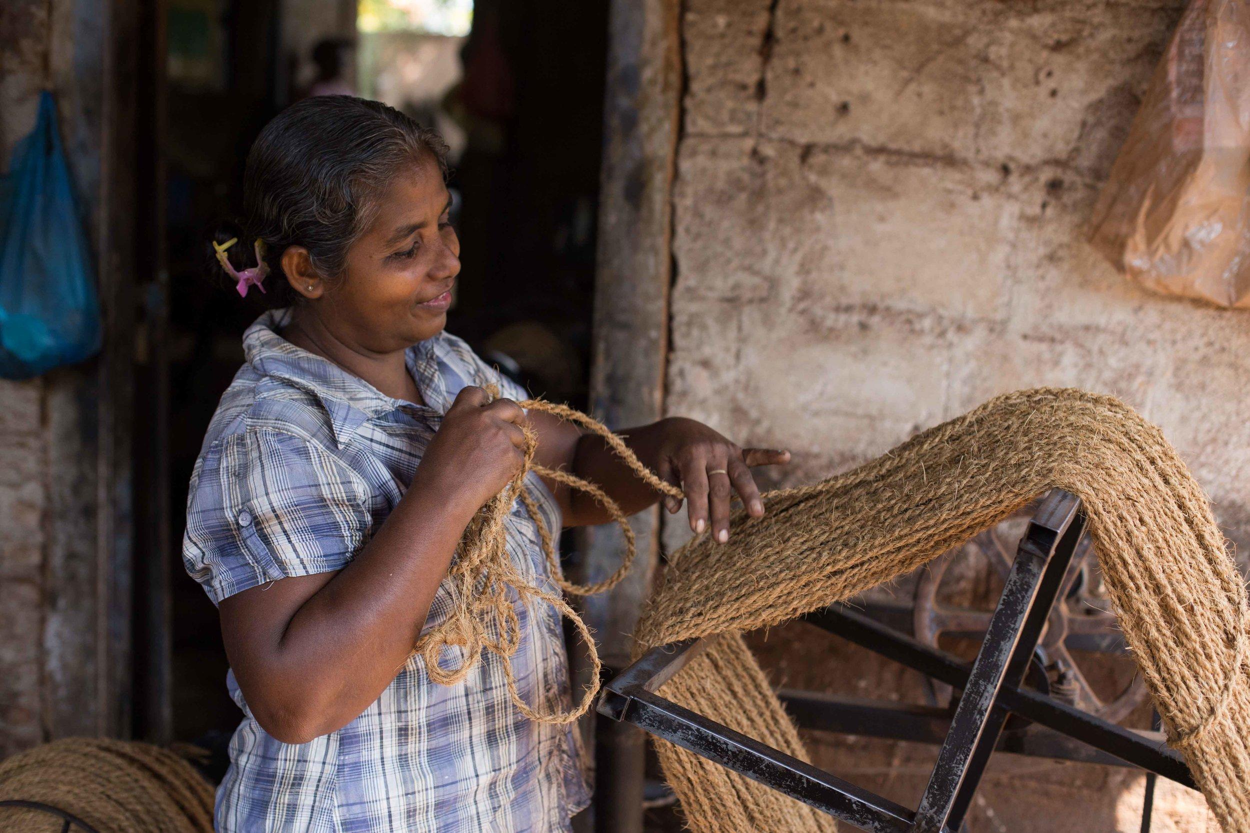 Sri Lanka Coir Industry