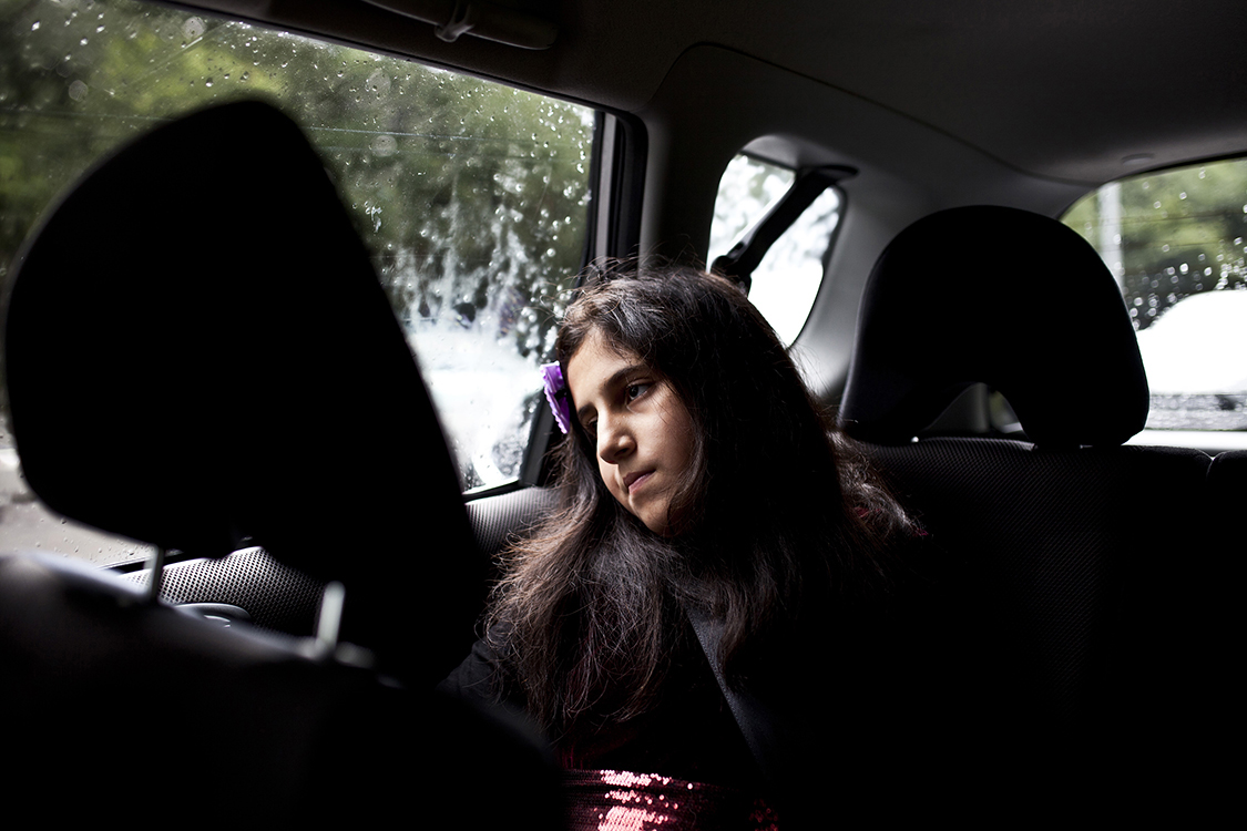 Malaika, a local Oldham resident and the daughter of Najma Khalid.