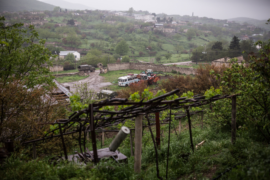 Talish, Nagorno-Karabakh Republic, 29 April 2016
