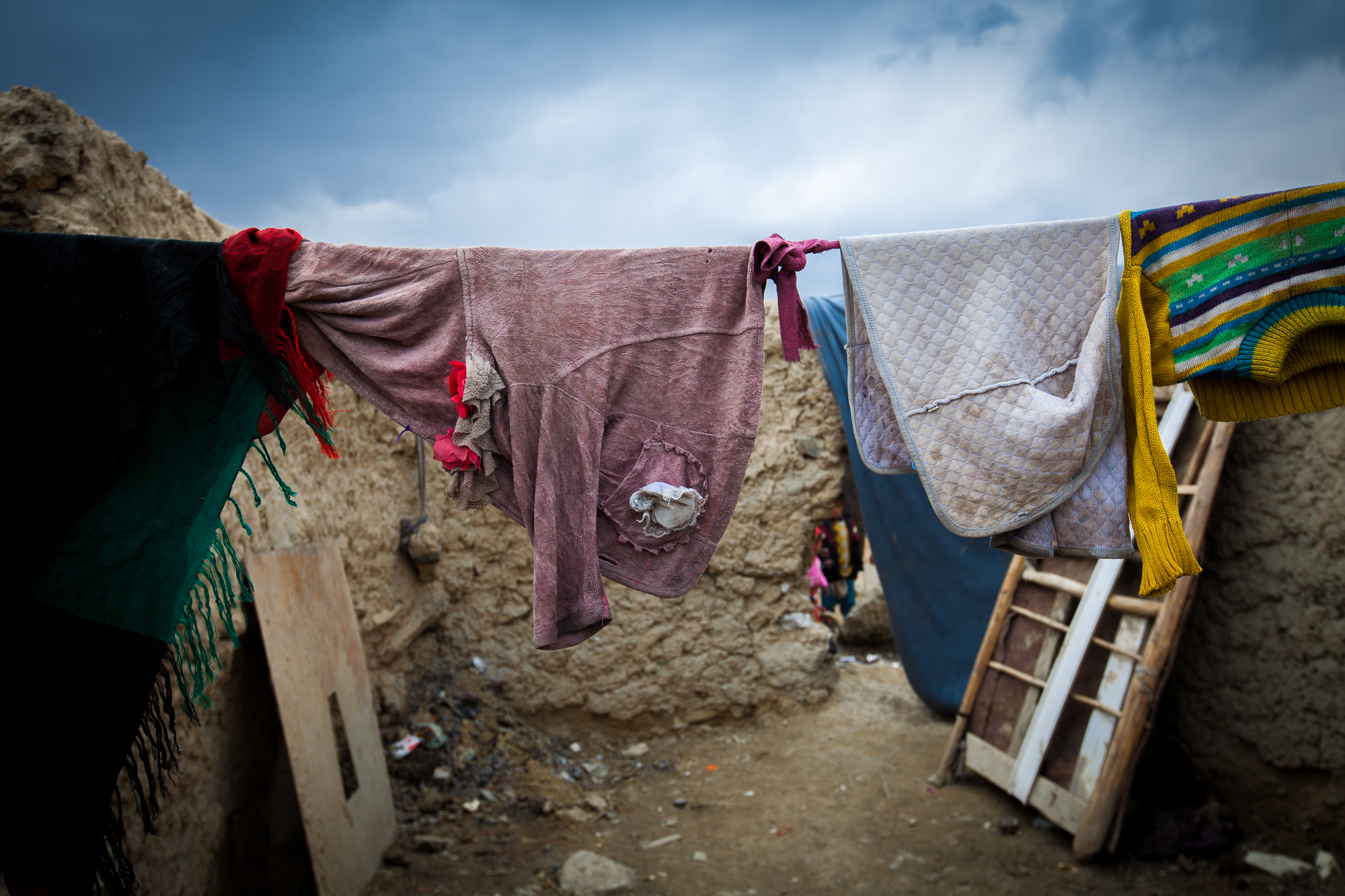 The people living in the camp are settled and don't seem to be moving any time soon. The government is struggling to resettle the displaced in peaceful communities because local residents don't want Afghans from other provinces moving into their villages and competing for limited jobs and resources.
