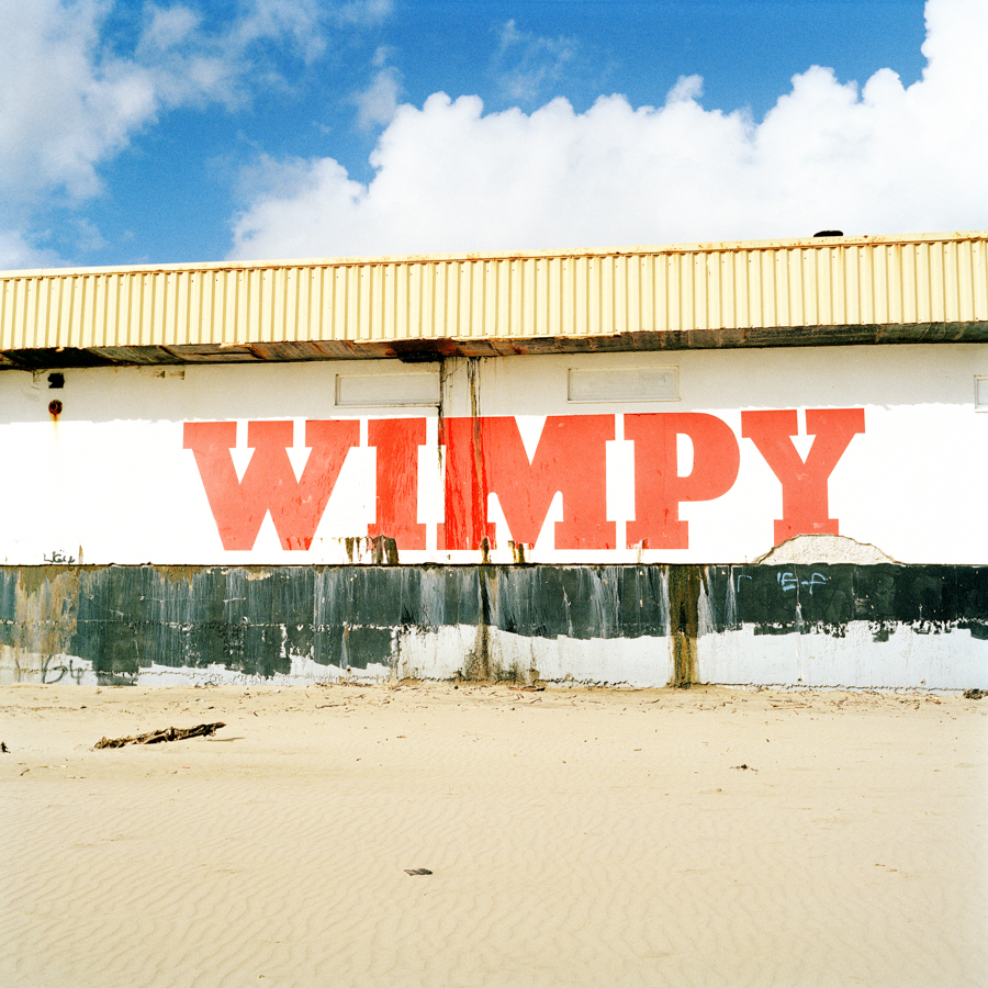 """Wimpy is a multinational chain of fast food restaurants that first opened in the United States, 1934; it was later introduced to the United Kingdom in 1954.During the EU referendum on June 23rd 2016, 54.6% of Bridgend voted for remain, with 45.4% for leave.This picture is paired with a quote from John Kelly (Labour councillor for Washington North):""""Europe had become a symbol of globalisation. I'm a local ward representative and to me I've got to represent the best interests of my ward and I genuinely didn't think that Europe was doing that for us any more. Globalisation and the fact that people have been forgotten about in the race to make money, that's what has an impact on my residents."""""""