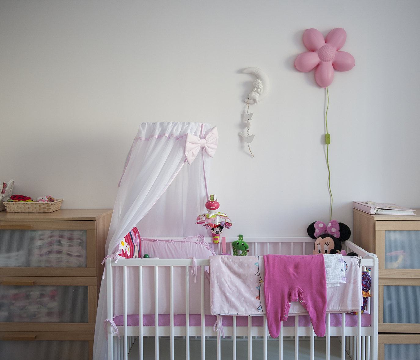 Lorcia's room. Lorcia was part of the family for seven years because Magdalena could not conceive. A year ago she gave birth to a baby boy. The doll now safely stored in a cupboard is no longer needed - yet fulfilled her therapeutic purpose
