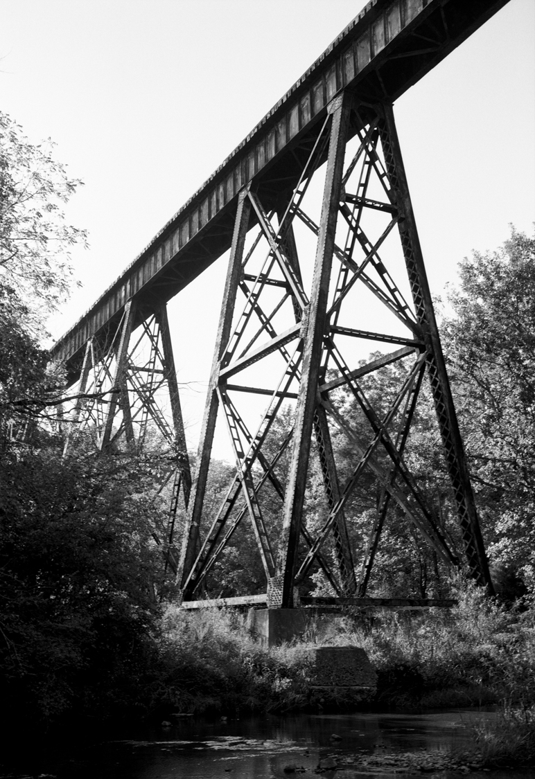 The trestle that became notorious for multiple 