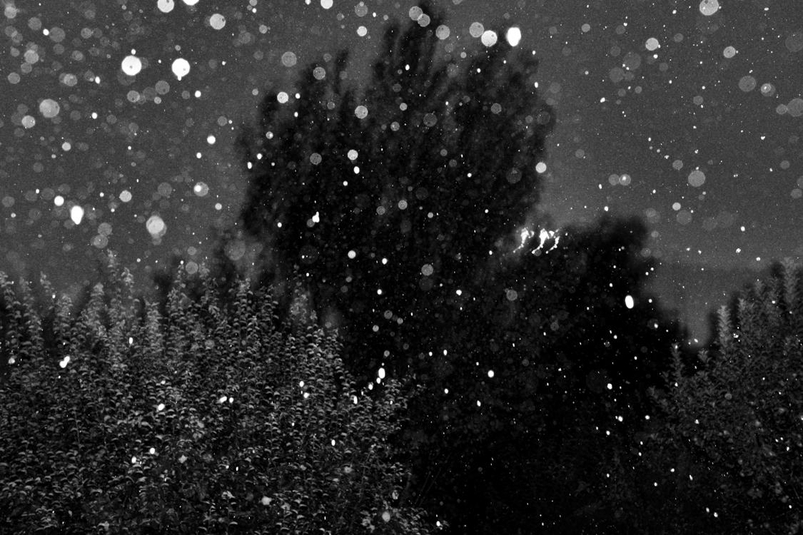 Rainy night in Srinagar.