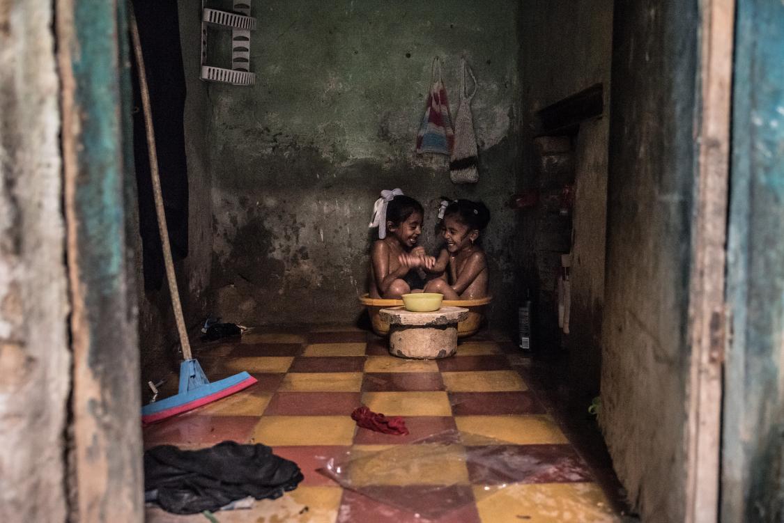 Bath time. Iraq, 11/10/2018
