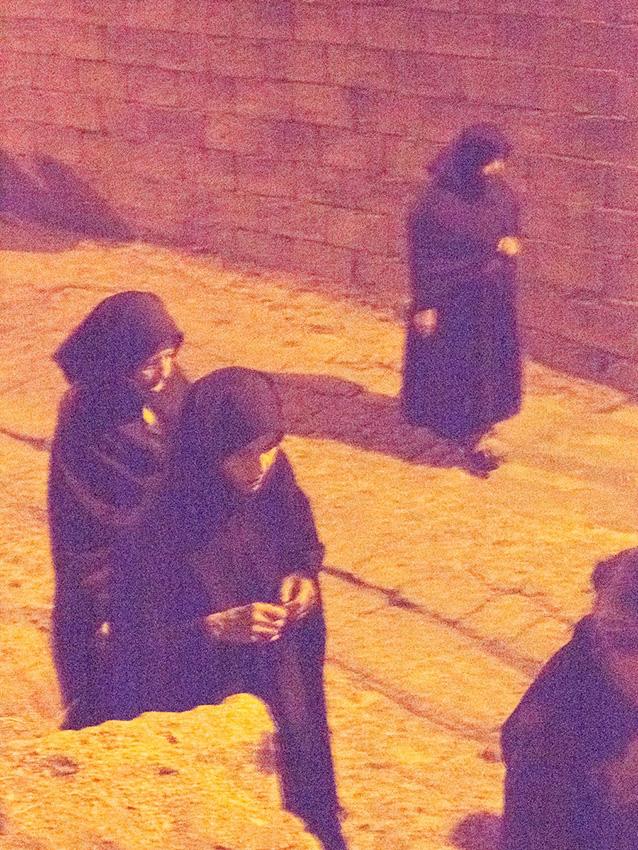 Night procession in Orgosolo, Barbagia.